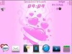 Themes : Valentine ( BBM Font Color Magenta)