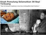 Kisah Pemulung Selamatkan 30 BayiTerbuang